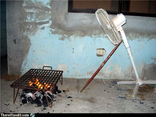 bbq,fan,fire,grill,Kludge,poll