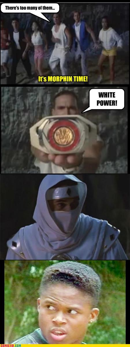 Morphin Time
