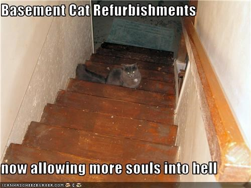 Basement Cat Refurbishments  now allowing more souls into hell