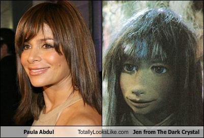 Paula Abdul Totally Looks Like Jen from The Dark Crystal