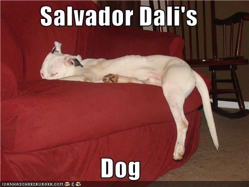 Salvador Dali's  Dog