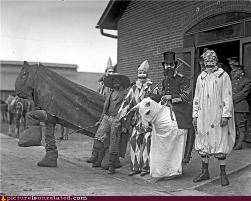 clowns,creepy,dark carnival,freaky,ICP,vintage,wtf
