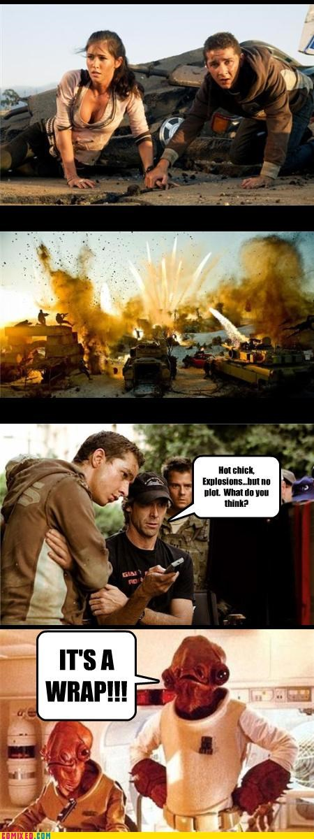 Michael Bay Thought Process
