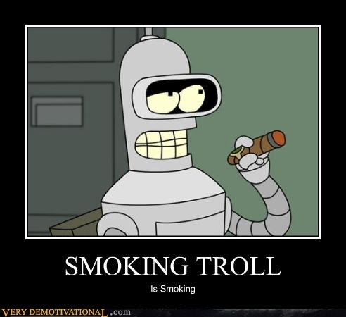 SMOKING TROLL