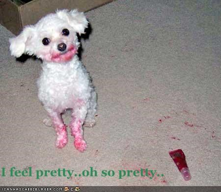 I feel pretty..oh so pretty..