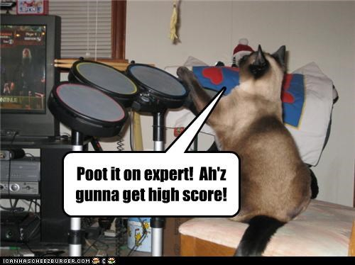 Poot it on expert!  Ah'z gunna get high score!