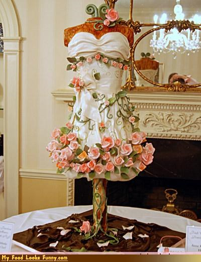 cake,dress,Sweet Treats,wedding,wedding cake,wedding dress