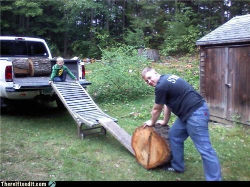 kids,ladder,ramp,truck,truck bed