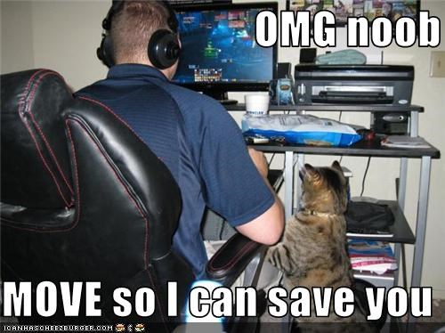 OMG noob  MOVE so I can save you