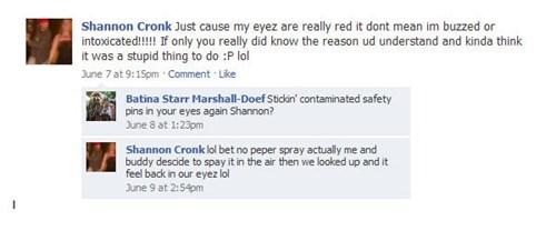 Morons Get Red Eyes, Too