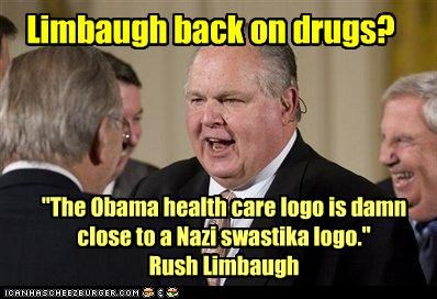 Limbaugh back on drugs?