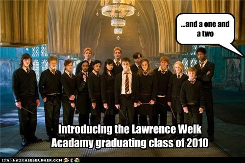 Introducing the Lawrence Welk Acadamy graduating class of 2010