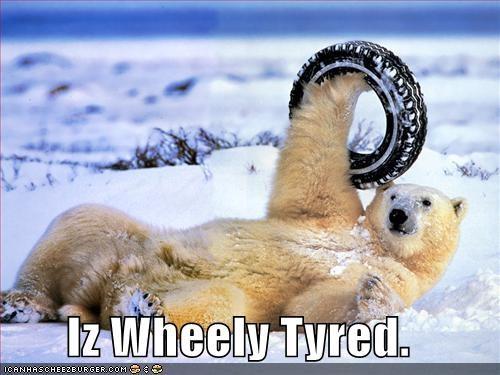 Iz Wheely Tyred.