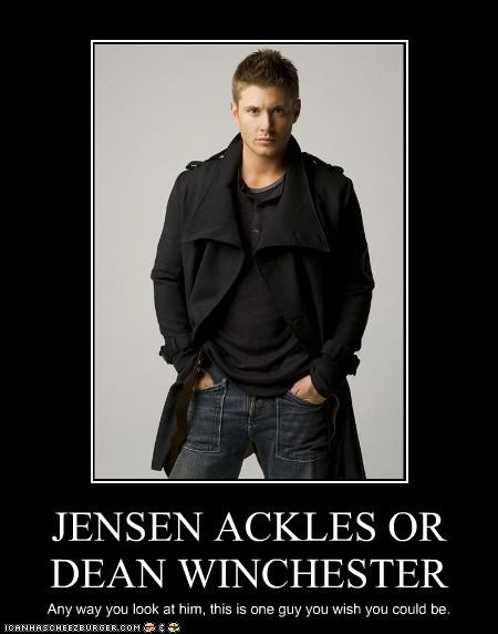 JENSEN ACKLES OR DEAN WINCHESTER