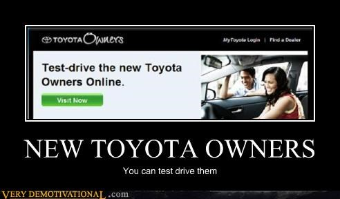 NEW TOYOTA OWNERS