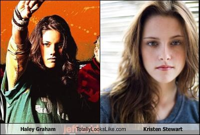 Haley Graham Totally Looks Like Kristen Stewart