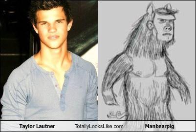 Taylor Lautner Totally Looks Like Manbearpig