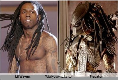 Lil Wayne Totally Looks Like Predator