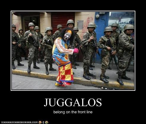clowns,demotivational,funny,lolz,soldiers