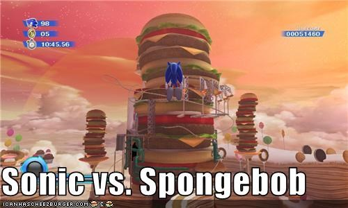 SpongeBob vs Sonic http://cheezburger.com/3668089600