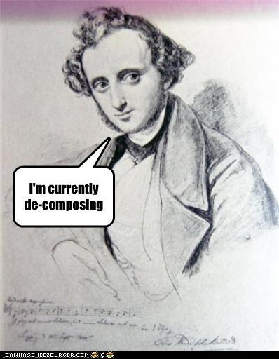 I'm currently de-composing