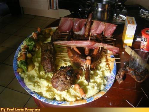 bacon,breakfast,eggs,meat,sausage,ship