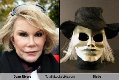 blade,comedian,horror,joan rivers,plastic surgery,Puppetmaster