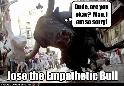 Jose the Empathetic Bull