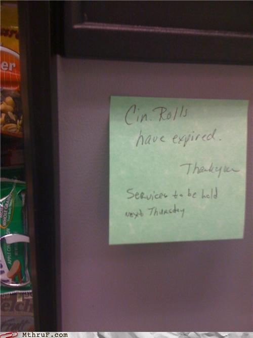 Expired Rolls