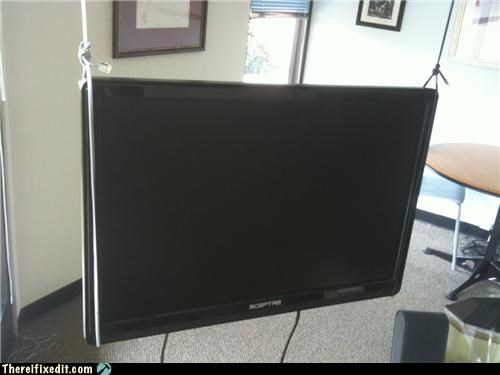 Flat Screen Stand? Why Would I Need That?