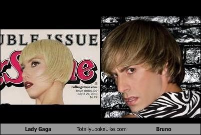Lady Gaga Totally Looks Like Bruno