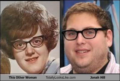 actor,fat,glasses,jonah hill,woman