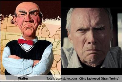 actor,Clint Eastwood,Gran Torino,movies,puppets,walter