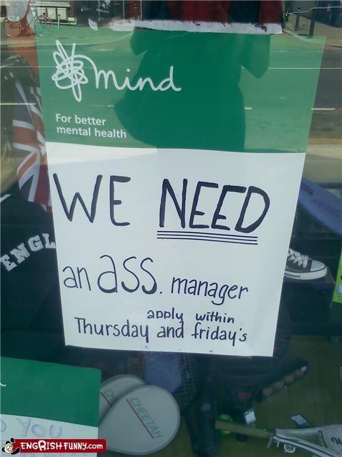 application,engrish,manager,sign