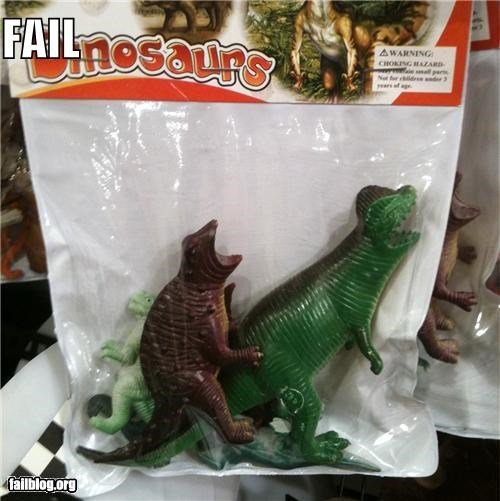 Toy Packaging Fail