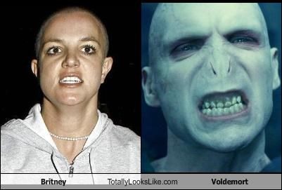 Britney Totally Looks Like Voldemort