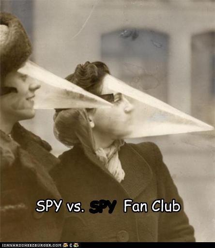 SPY vs.         Fan Club