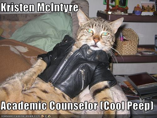 Kristen McIntyre  Academic Counselor (Cool Peep)