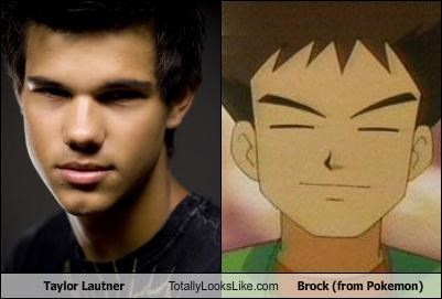 Taylor Lautner Totally Looks Like Brock (from Pokemon)