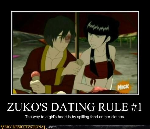 ZUKO'S DATING RULE #1