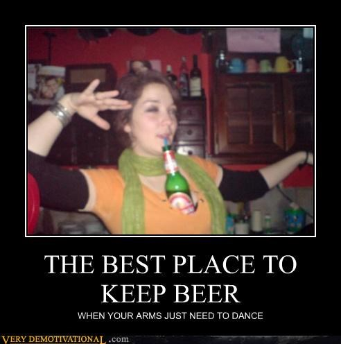 THE BEST PLACE TO KEEP BEER