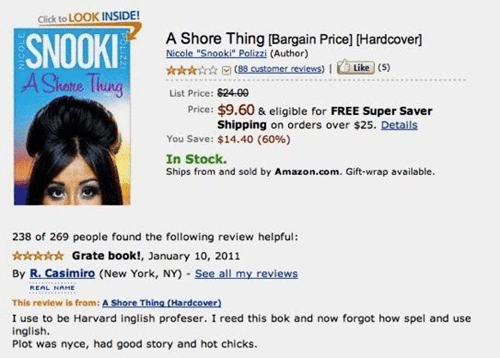 20 Hilarious Reviews