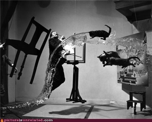 art,artist,salvador Dali,surrealism,the father of wtf,wtf