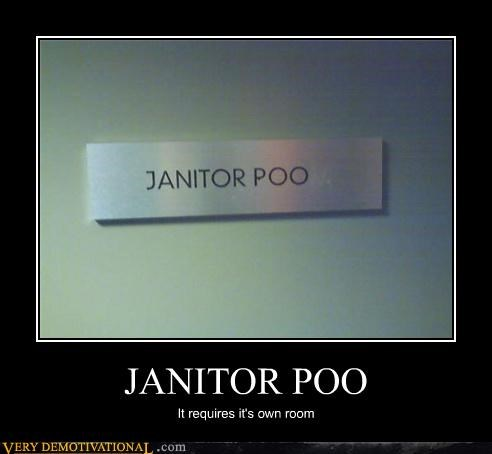 JANITOR POO