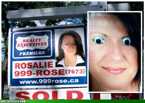 Creepy Realtor Watches You Mow Your Lawn