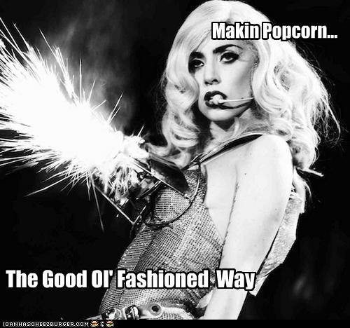 celebrity-pictures-lady-gaga-making-popcorn