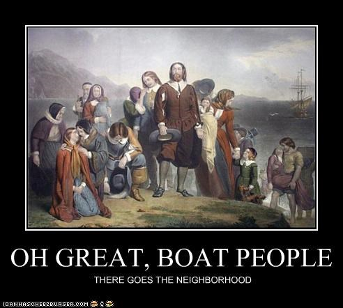 OH GREAT, BOAT PEOPLE