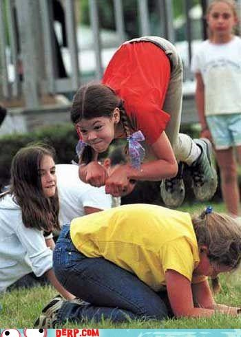 Leap Frog: The Most Graceful Of Recess Games