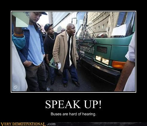 buses,idiots,Protest,public transportation,wtf,yelling