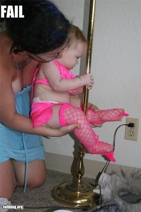 Babies,dancing,failboat,infants,parenting,poles,strippers